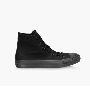 Black converse all stars high tops